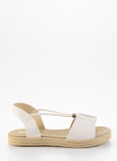 Bambi Sandalet Beyaz
